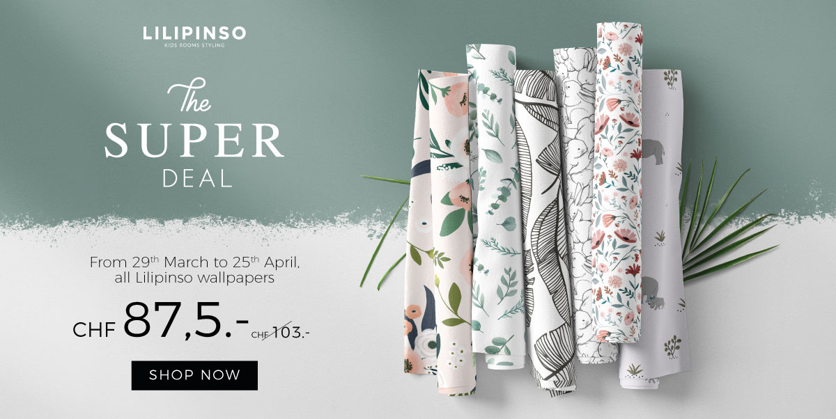 Lilipinso - Discount on wallpapers