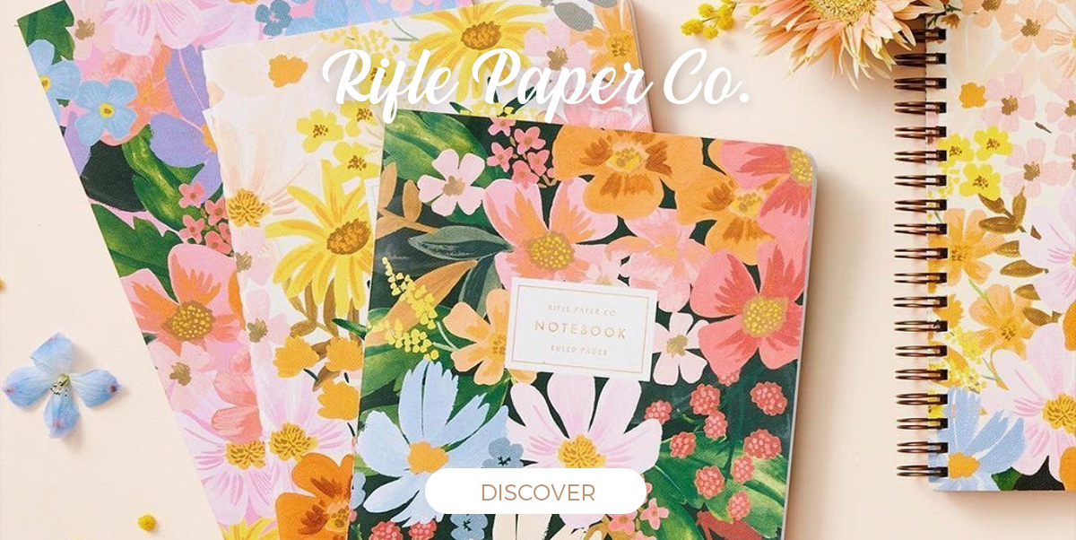 Rifle Paper Co. - Stationery, Notebooks, Journals, Pencils