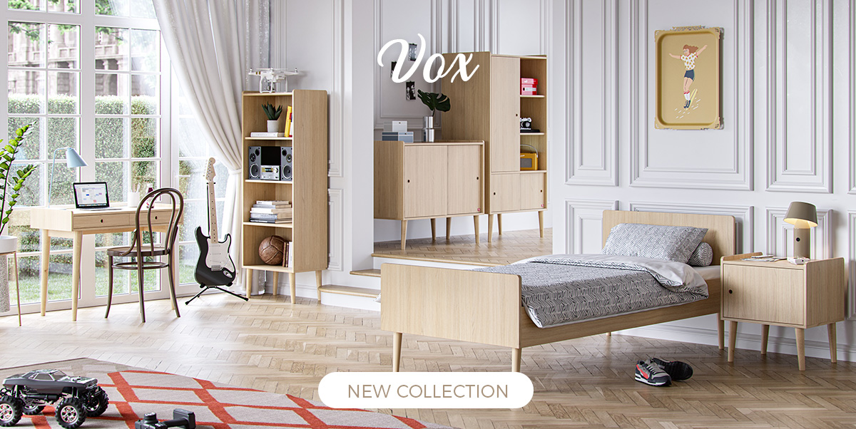 Vox - New collection Retro, kids furniture, baby furniture