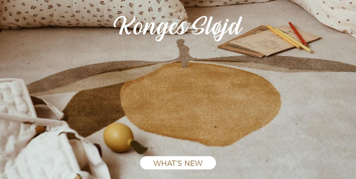 Konges Sløjd - Decoration, kids rugs, back packs back to school