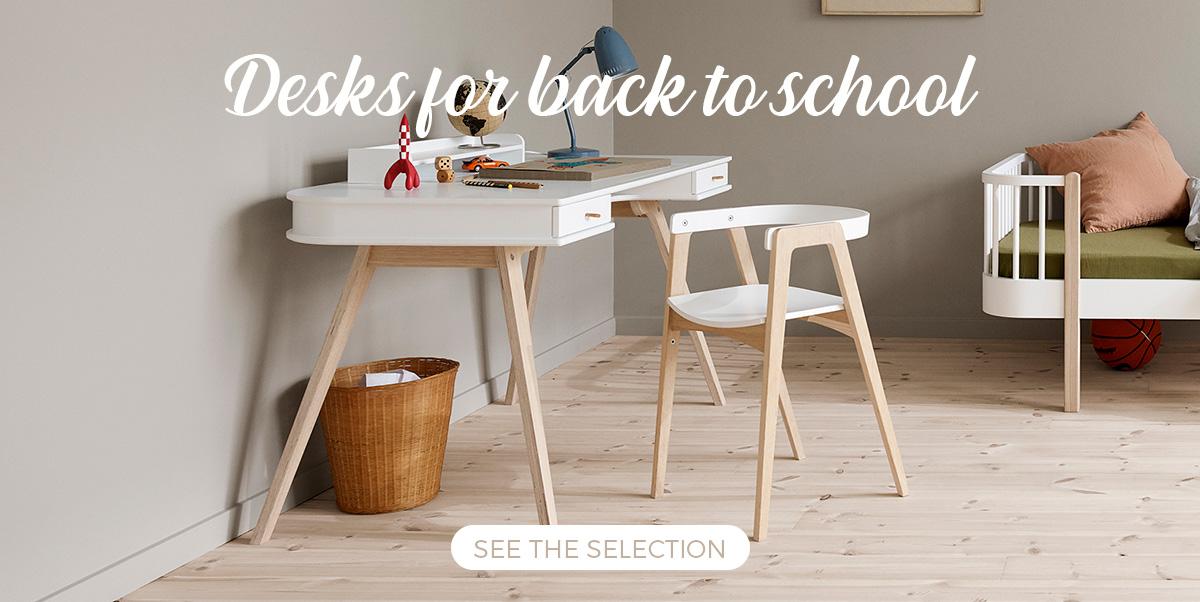Back to school - Selection of desks