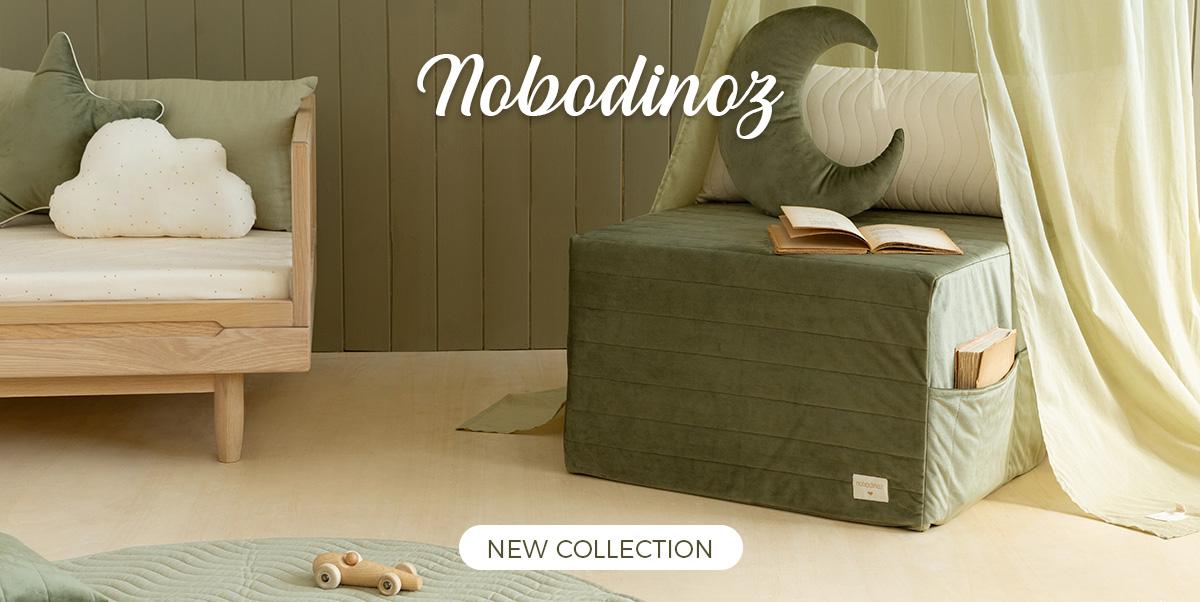 Nobodinoz - Play Mattress, Sleepover Mattress, Beanbags
