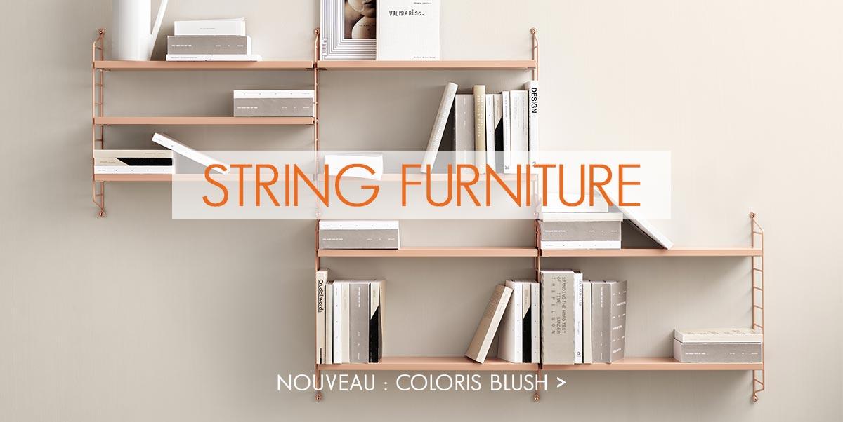 String Furniture - Nouveau coloris Blush
