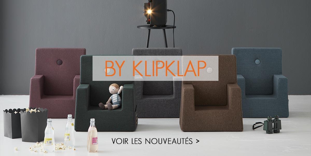 By KlipKlap - Fauteuil pour enfant, Sofa, Matelas pliables