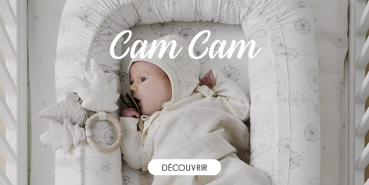 Cam Cam - Nid Bébé, Matelas à langer, Puériculture