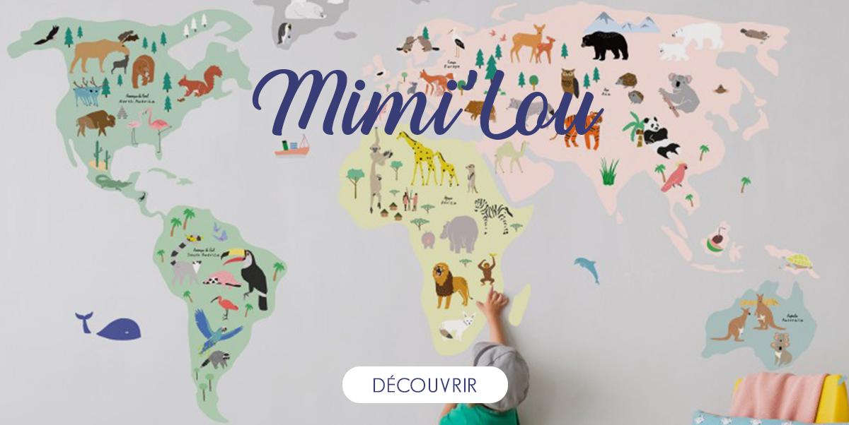 Mimi'Lou - Stickers déco pour enfant