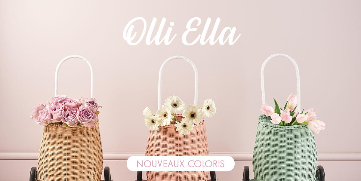 Olli Ella - Paniers à roulettes Luggy - nouvelles couleurs