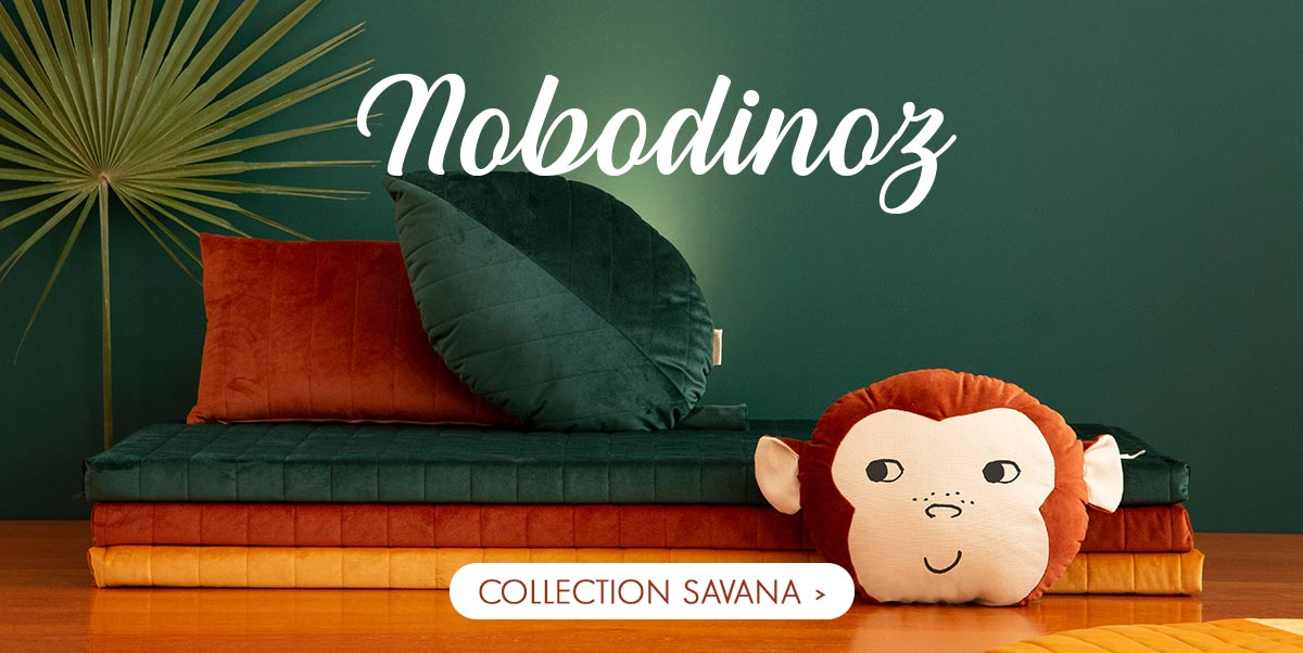 Nobodinoz - Nouvelle collection velours Savana