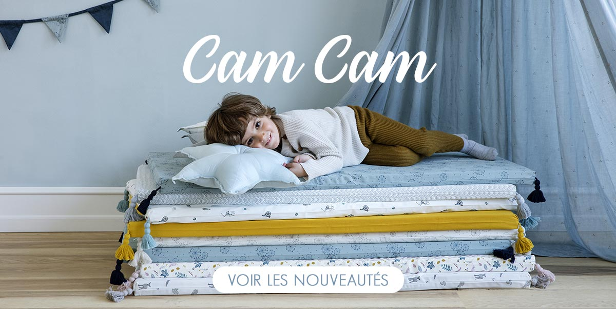 Cam Cam - Nouvelle collection en stock