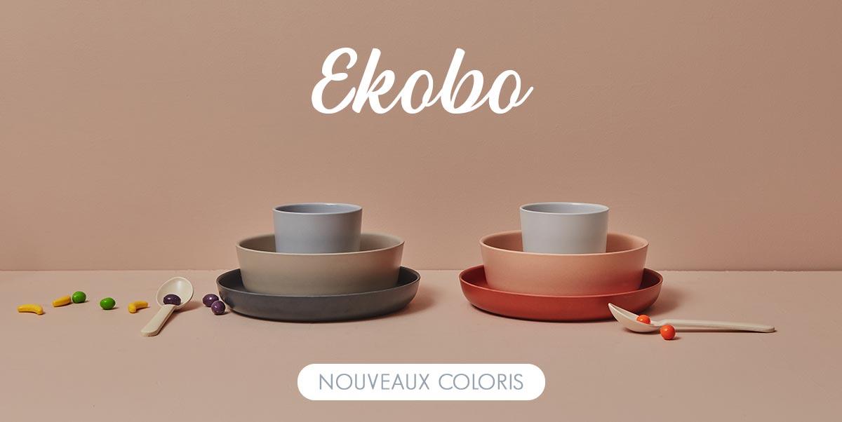 Ekobo - Vaisselle enfant en bambou
