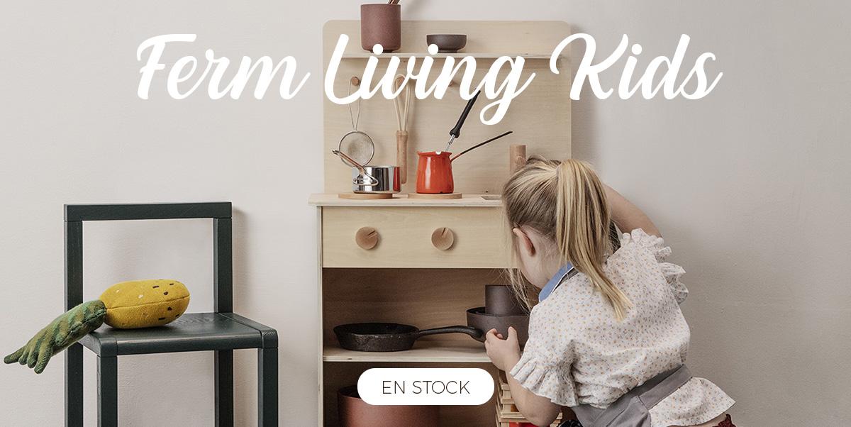 Ferm Living Kids - Cuisine enfant en bois, jouets enfant