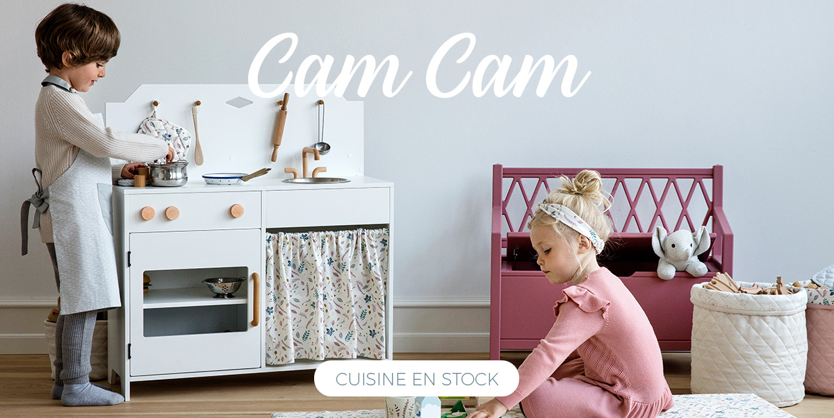 Cam Cam - Cuisine enfant en bois