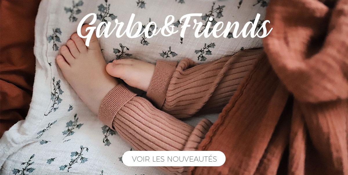 Garbo&Friends - Nouvel imprimé Bluebell. Linge de lit pour enfant
