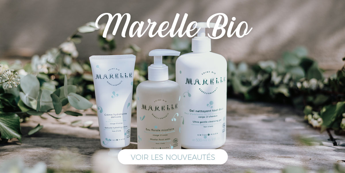 Marelle - Cosmétique bébé bio made in Switzerland