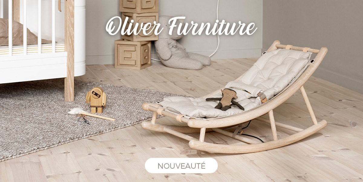 Oliver Furniture - Transat bébé évolutif