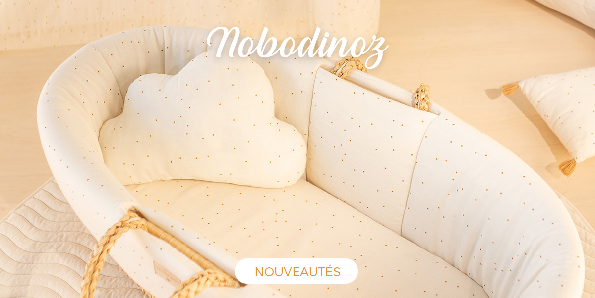 Nobodinoz - Accessoires bébé coton biologique