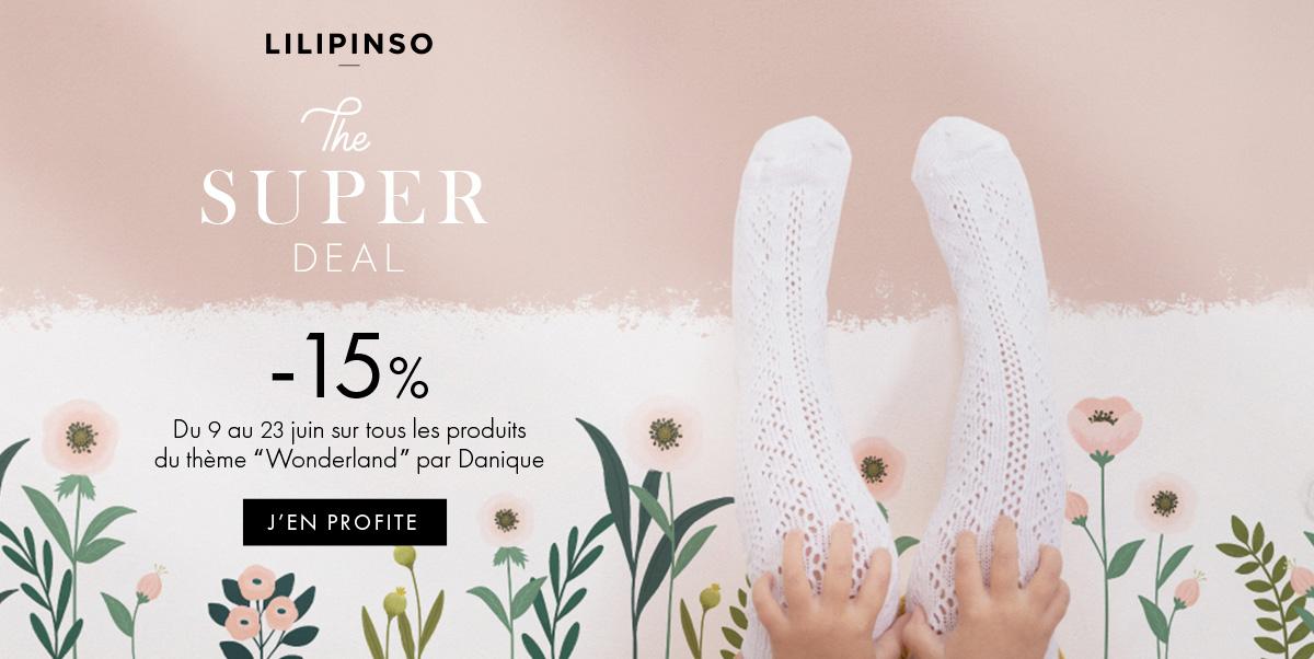 Lilipinso - Promo sur les papiers peints, affiches et stickers
