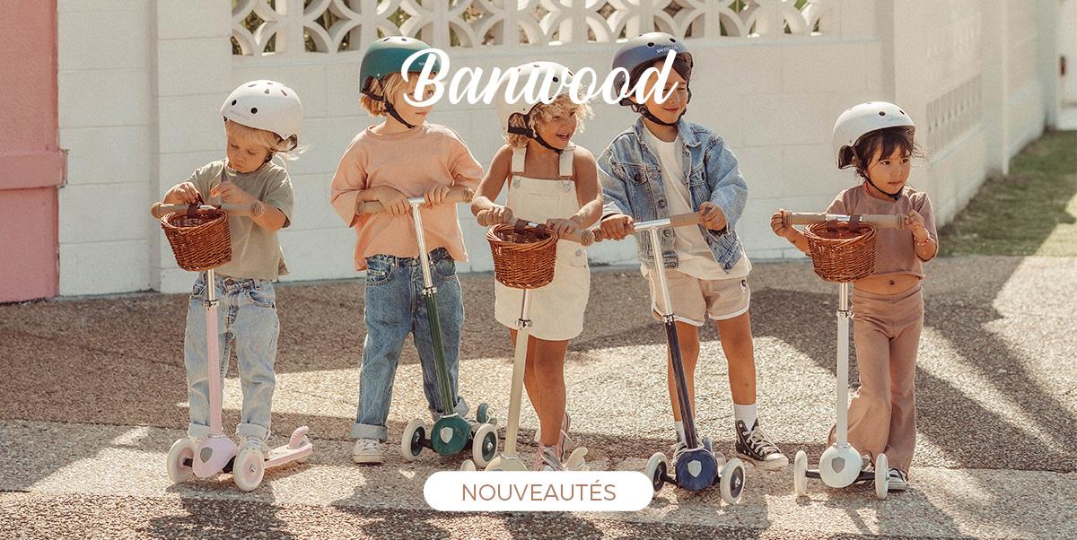 Banwood - Nouvelles trottinettes